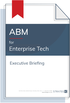 Inbound Executive Briefing for Enterprise Tech (ABM)