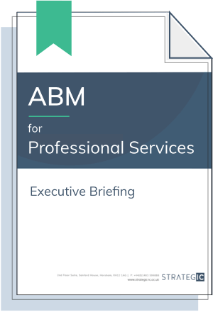 Inbound Executive Briefing for Professional Services (ABM)