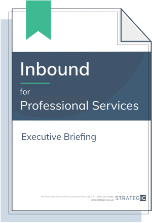 Inbound Executive Briefing for Professional Services (Inbound)